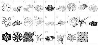 japanese garden ornaments itc 3d fonts brush fonts comic fonts