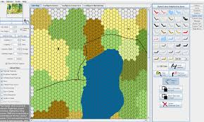 Random World Map Generator by Making Child Maps Submaps In Hexographer Inkwell Ideas