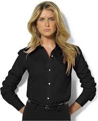 womens black blouse ralph sleeve poplin shirt where to buy how