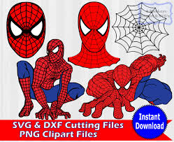 spiderman svg superhero spiderman clipart svg bundle cliparting