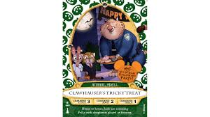 scary halloween stories clawhauser u0027 sorcerers of the magic kingdom card to be released at