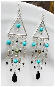 Wire Chandelier Earrings 1 Chandelier Earrings