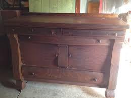 antique sideboard makeover hometalk