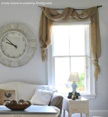 Country Living Curtains Simple Decorating Ideas On A Budget Town Country Living