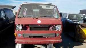 Junkyard Find 1983 Volkswagen Vanagon Steal Your Face Edition