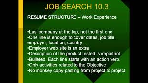 Jobs Resume Writing by How To Write A Good Job Resume Great Resumes Writing Tips How To
