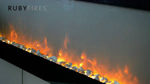 ruby fires trivero electric fireplace youtube