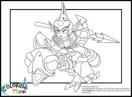 skylanders giants air lightcore jet vac coloring page skylanders