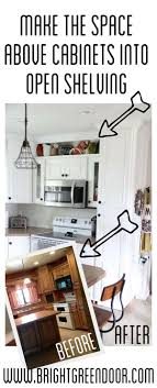 how to build storage above kitchen cabinets how to build open shelving above cabinets for a custom