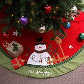 personalized tree skirt personalized christmas tree skirts amazing christmas ideas