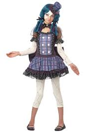 spirit halloween costumes for girls tween broken doll costume