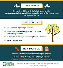 front desk jobs hiring now la office of state parks is hiring