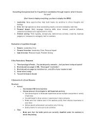Mckinsey Resume Etymology Of Resume Free Resume Example And Writing Download