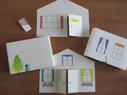3d paper house craft for kids instant download template from