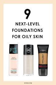 the best drugstore foundations for oily skin drugstore
