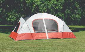 bull canyon two room cabin dome tent