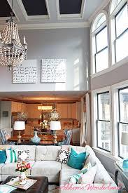 two story living room our two story living room reveal addison s wonderland