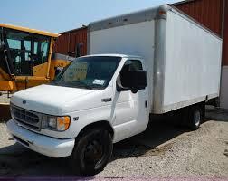 1999 ford econoline e350 super duty box truck item h3031