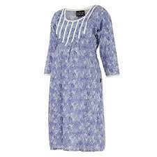 ziva maternity wear buy ziva maternity wear women s cotton neck kurta online