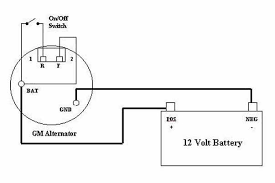 wiring diagram how to wire gm alternator wiring diagram gm two