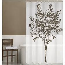 Tree Curtain Maytex Arbor 13 Piece Peva Shower Curtain Set Walmart Com