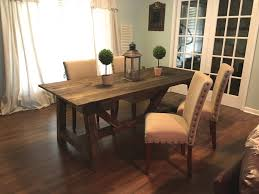 ana white truss 4x4 dining table diy projects