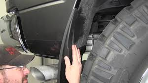 Ford Truck Mud Guards - installation of husky rear mud flaps on a 2014 ram 1500 etrailer