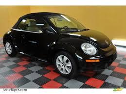 beetle volkswagen black 2009 volkswagen new beetle 2 5 convertible in black 401541