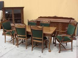 antique dining room sets imposing amazing antique dining room furniture 1920 antique dining