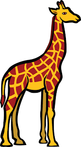 clipart of a giraffe