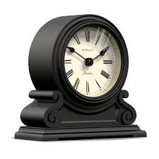 newgate writing desk clock black