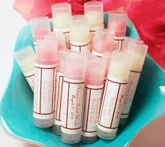 sale 30 personalized lip balm favors party favors bridal