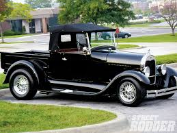 Vintage Ford Truck Specs - 1929 ford roadster pickup rod network