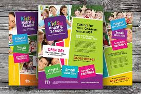 play school brochure templates flyer design templates shatterlion info