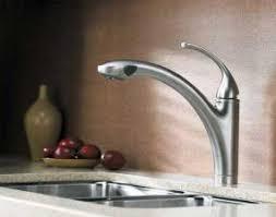 kohler forte pull out kitchen faucet kohler k 10433 g forte single pullout kitchen sink faucet