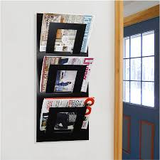 interior wall mounted flyer display wall mounted magazine rack