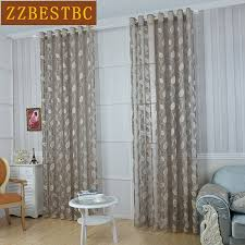 Leaf Pattern Curtains Online Get Cheap Pattern Curtains Modern Aliexpress Com Alibaba