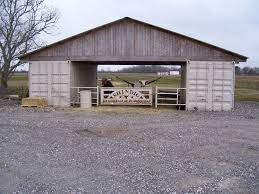 Livestock Barns Isbu Shipping Container Livestock Barn Order Two Cargo