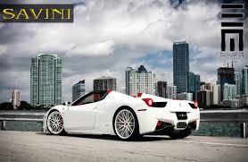 ferrari 458 custom 458 italia savini wheels