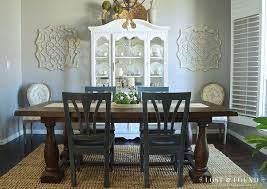 painted china cabinet using fusion champlain makeover
