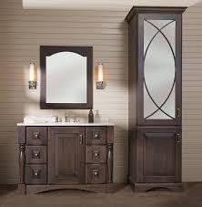 Linen Cabinet Doors Impressing Building A Diy Bathroom Vanity Part 5 Cabinet