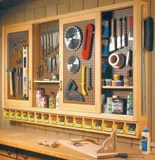 Simple Work Bench Build An Organized Pegboard Tool Cabinet And Simple Workbench