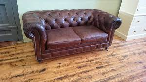 Tartan Chesterfield Sofa by Living Furniture Monkey