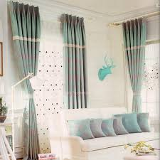 Light Blue Bedroom Curtains 2016 New Arrival Light Blue Linen Cotton Bedroom Curtains
