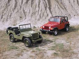 compare jeep wranglers comparing jeep willys and wrangler jeep enthusiast