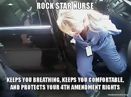 The Rock In Car Meme - rock star nurse keeps you breathing keeps you comfortable and
