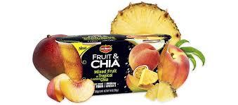 Sweet Treat Cups Wholesale Fruit U0026 Chia Landing Page Del Monte Foods Inc
