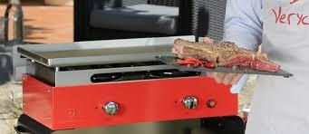 cuisine à la plancha gaz plancha gaz d extérieur garantie de 5 à 20 ans verycook