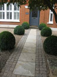 Types Of Garden Paths These Magnificent Box Balls Were Supplied By Provender Nurseries