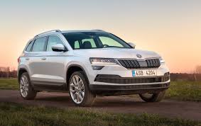 public debut confirmed for 2018 skoda karoq behind the wheel